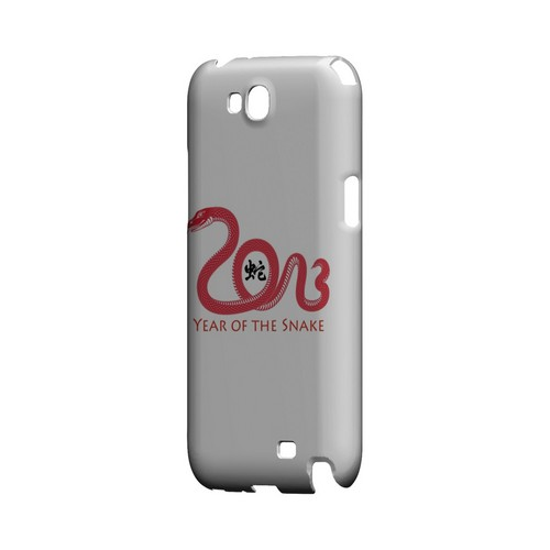 Red Year of the Snake Geeks Designer Line Chinese Horoscope Series Slim Hard Case for Samsung Galaxy Note 2