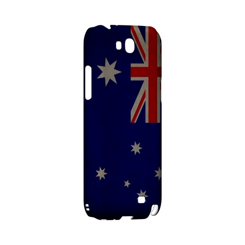 Grunge Australia Geeks Designer Line Flag Series Slim Hard Case for Samsung Galaxy Note 2