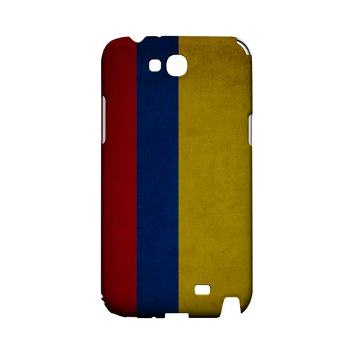 Grunge Colombia Geeks Designer Line Flag Series Slim Hard Case for Samsung Galaxy Note 2