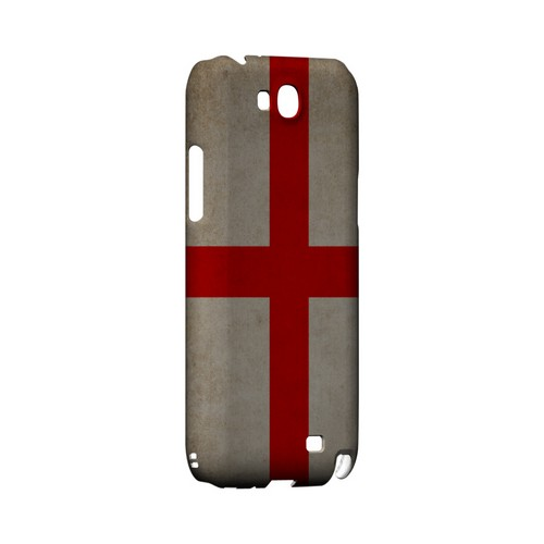 Grunge England Geeks Designer Line Flag Series Slim Hard Case for Samsung Galaxy Note 2