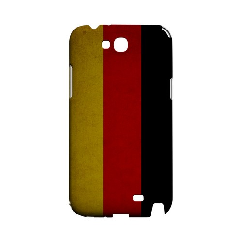Grunge Germany Geeks Designer Line Flag Series Slim Hard Case for Samsung Galaxy Note 2