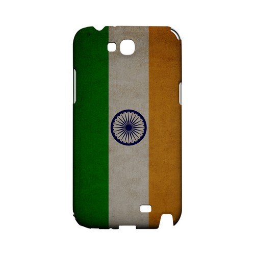 Grunge India Geeks Designer Line Flag Series Slim Hard Case for Samsung Galaxy Note 2