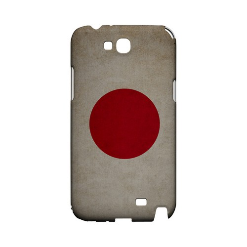 Grunge Japan Geeks Designer Line Flag Series Slim Hard Case for Samsung Galaxy Note 2