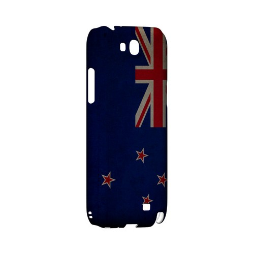 Grunge New Zealand Geeks Designer Line Flag Series Slim Hard Case for Samsung Galaxy Note 2