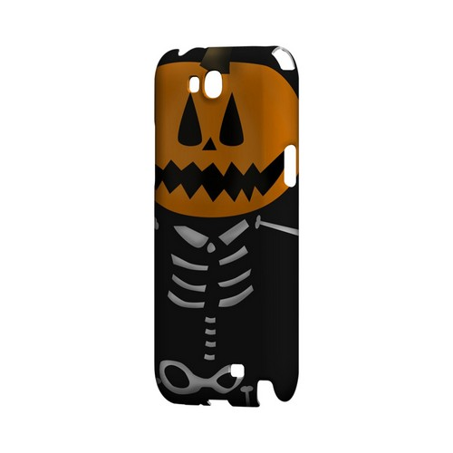 Skeleton w/Jack O' Lantern Head - Geeks Designer Line (GDL) Monster Mash Series Hard Back Cover for Samsung Galaxy Note 2