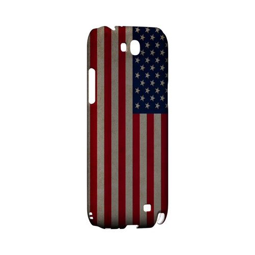 Grunge United States Geeks Designer Line Flag Series Slim Hard Case for Samsung Galaxy Note 2