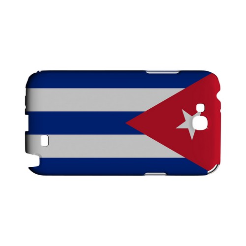 Cuba Geeks Designer Line Flag Series Slim Hard Case for Samsung Galaxy Note 2