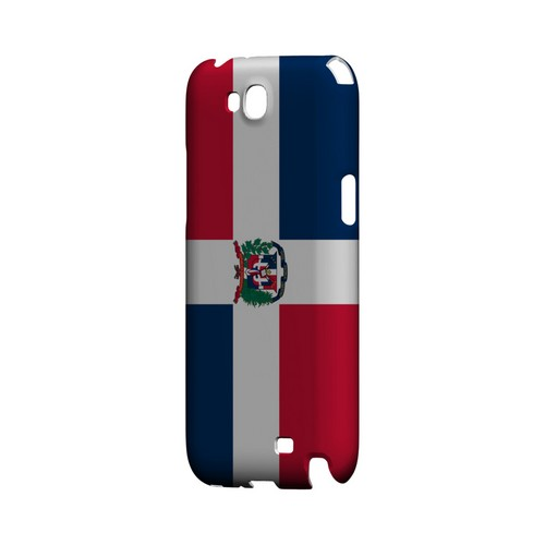 Dominican Republic Geeks Designer Line Flag Series Slim Hard Case for Samsung Galaxy Note 2