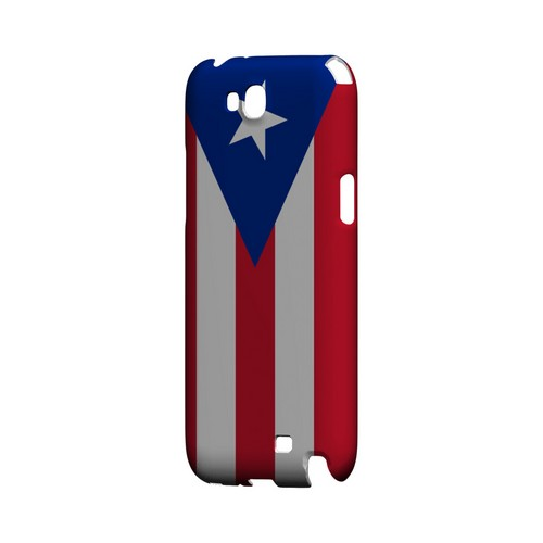 Puerto Rico Geeks Designer Line Flag Series Slim Hard Case for Samsung Galaxy Note 2
