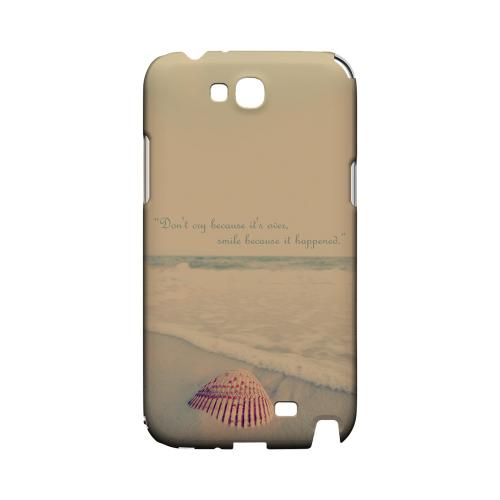 Don't Cry Geeks Designer Line Beach Series Slim Hard Case for Samsung Galaxy Note 2