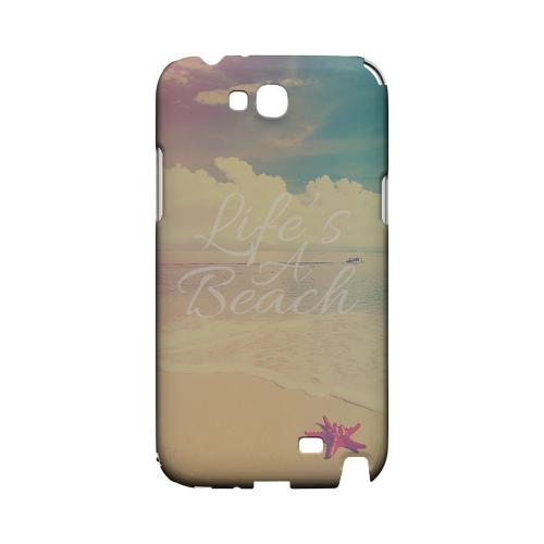 Life's A Beach Geeks Designer Line Beach Series Slim Hard Case for Samsung Galaxy Note 2