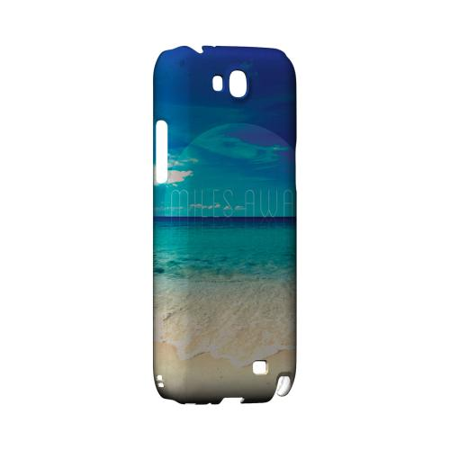 Miles Away Geeks Designer Line Beach Series Slim Hard Case for Samsung Galaxy Note 2
