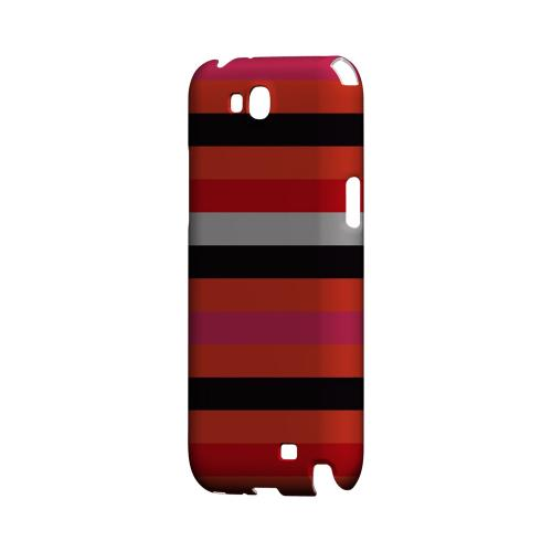 Muted Spade Stripes - Geeks Designer Line Stripe Series Hard Case for Samsung Galaxy Note 2