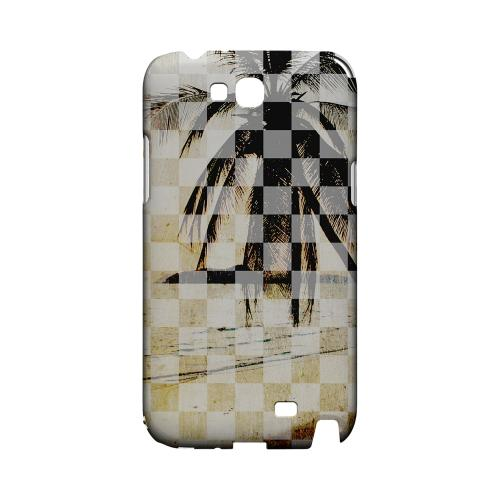 Palm Tree - Geeks Designer Line Checker Series Hard Case for Samsung Galaxy Note 2