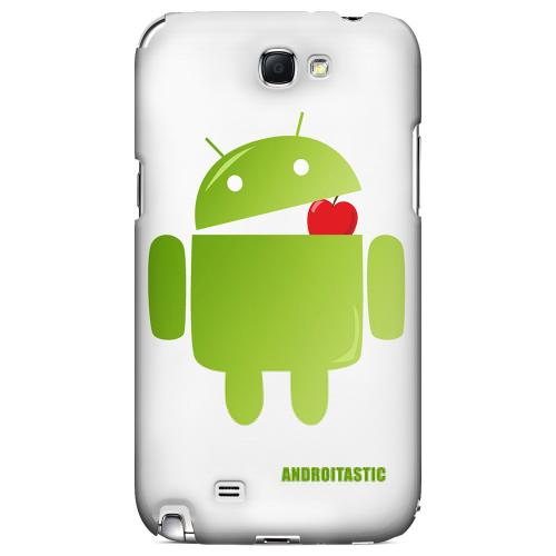 Robot Versus Apple Geeks Designer Line Androitastic Series Slim Hard Back Cover for Samsung Galaxy Note 2