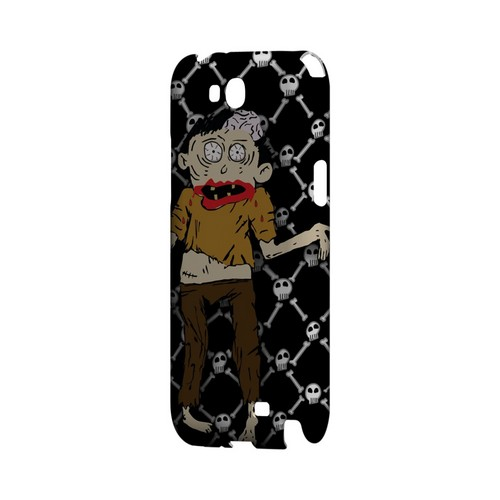 Zombie w/Skull & Crossbones - Geeks Designer Line (GDL) Monster Mash Series Hard Back Cover for Samsung Galaxy Note 2