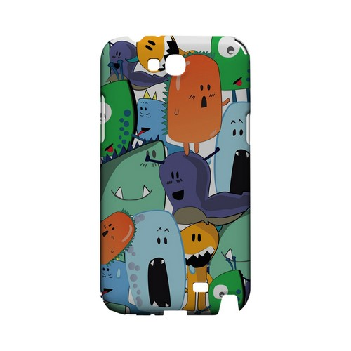 ZORGBLATS Gang on White - Geeks Designer Line (GDL) Monster Mash Series Hard Back Cover for Samsung Galaxy Note 2