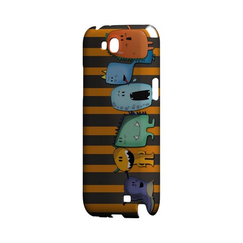 ZORGBLATS Line Up - Geeks Designer Line (GDL) Monster Mash Series Hard Back Cover for Samsung Galaxy Note 2