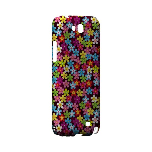 Multi-Colored Flowers - Geeks Designer Line Floral Series Hard Case for Samsung Galaxy Note 2