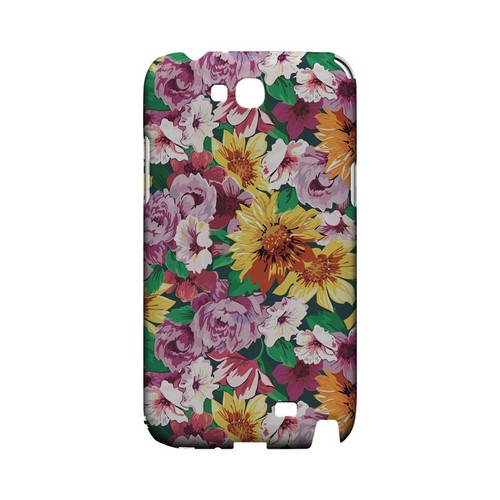 Pink/ Orange Flowers - Geeks Designer Line Floral Series Hard Case for Samsung Galaxy Note 2