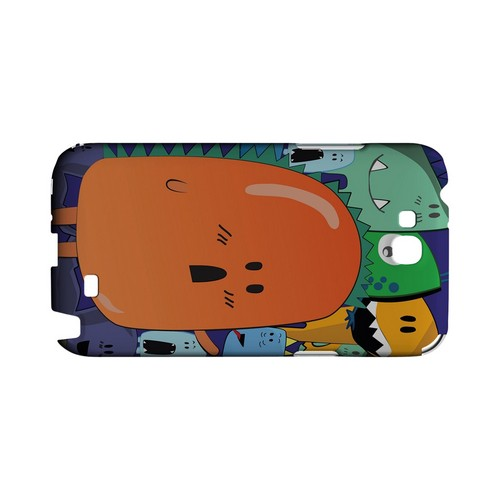 ZORGBLATS Orange Moob Close-Up - Geeks Designer Line (GDL) Monster Mash Series Hard Back Cover for Samsung Galaxy Note 2