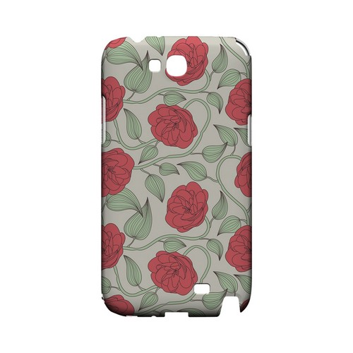Roses & Vines - Geeks Designer Line Floral Series Hard Case for Samsung Galaxy Note 2