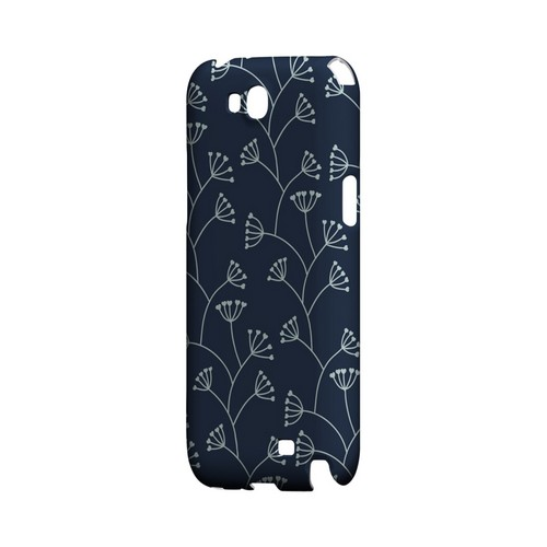 Simple Blue - Geeks Designer Line Floral Series Hard Case for Samsung Galaxy Note 2