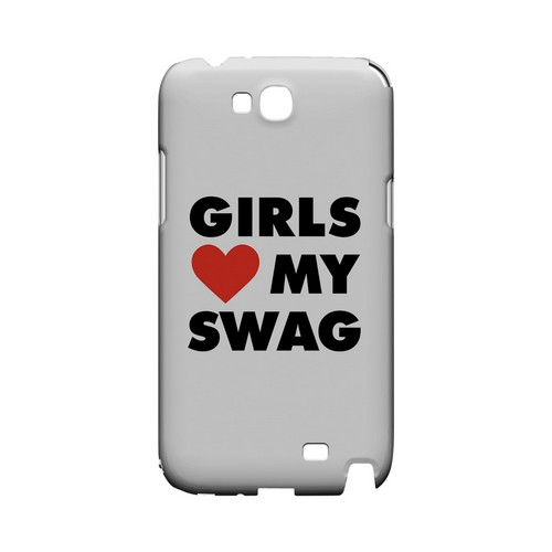 Girls Love My Swag - Geeks Designer Line Swag Series Hard Case for Samsung Galaxy Note 2