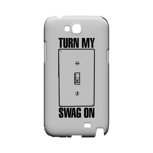 Light Switch - Geeks Designer Line Swag Series Hard Case for Samsung Galaxy Note 2
