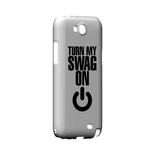 Power Button - Geeks Designer Line Swag Series Hard Case for Samsung Galaxy Note 2