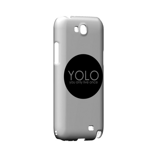 YOLO Circle - Geeks Designer Line YOLO Series Hard Case for Samsung Galaxy Note 2