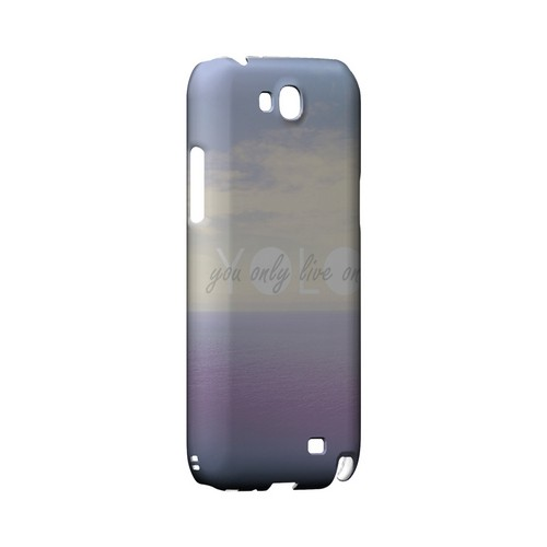 Filled YOLO - Geeks Designer Line YOLO Series Hard Case for Samsung Galaxy Note 2