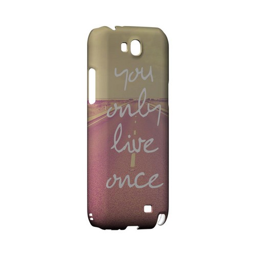 Open Road YOLO - Geeks Designer Line YOLO Series Hard Case for Samsung Galaxy Note 2