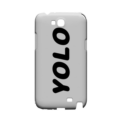 Rounded YOLO - Geeks Designer Line YOLO Series Hard Case for Samsung Galaxy Note 2