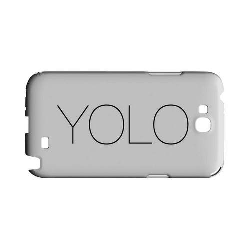 Thin YOLO - Geeks Designer Line YOLO Series Hard Case for Samsung Galaxy Note 2