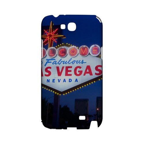 Las Vegas - Geeks Designer Line City Series Hard Case for Samsung Galaxy Note 2