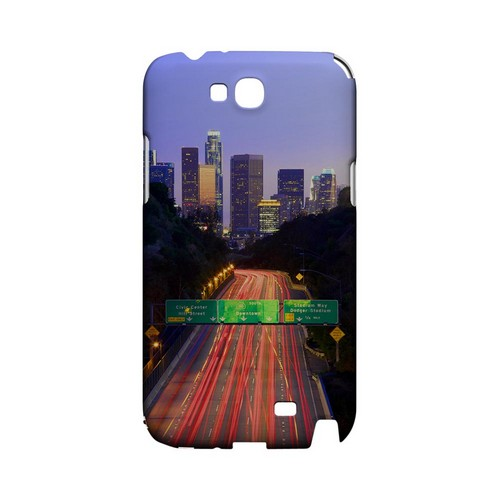 Los Angeles - Geeks Designer Line City Series Hard Case for Samsung Galaxy Note 2