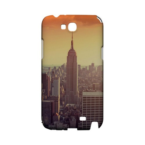 New York - Geeks Designer Line City Series Hard Case for Samsung Galaxy Note 2