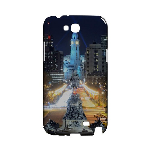 Philadelphia - Geeks Designer Line City Series Hard Case for Samsung Galaxy Note 2