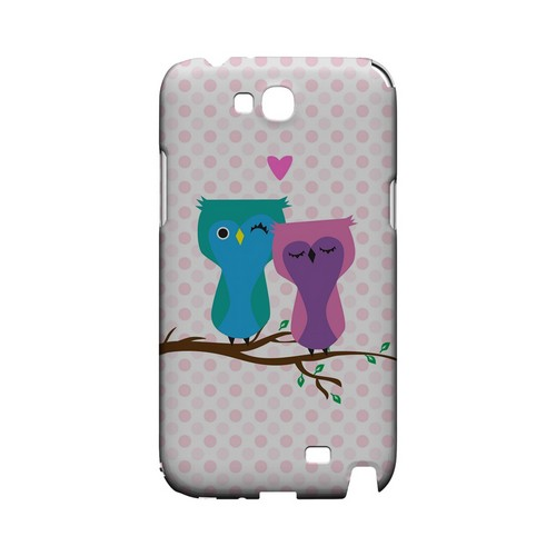 Owl Love You Forever - Geeks Designer Line (GDL) Owl Series Hard Back Cover for Samsung Galaxy Note 2