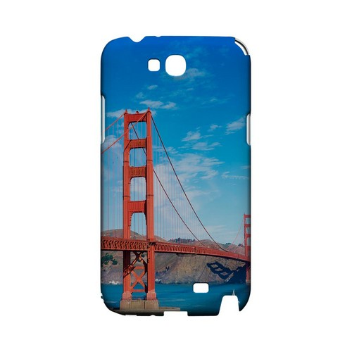 San Francisco - Geeks Designer Line City Series Hard Case for Samsung Galaxy Note 2