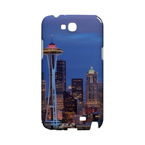 Seattle - Geeks Designer Line City Series Hard Case for Samsung Galaxy Note 2