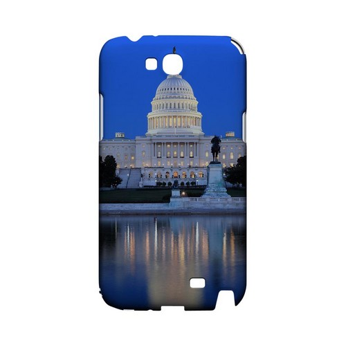 Washington D.C. - Geeks Designer Line City Series Hard Case for Samsung Galaxy Note 2