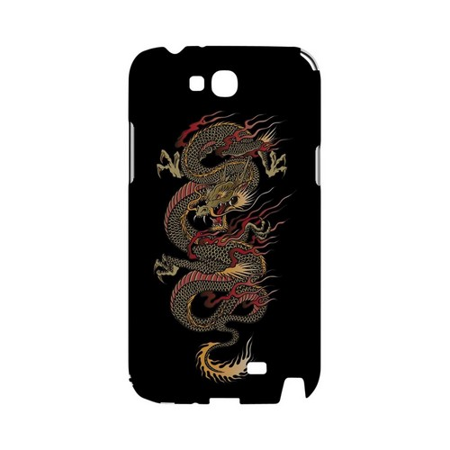 Dragon on Black - Geeks Designer Line Tattoo Series Hard Case for Samsung Galaxy Note 2