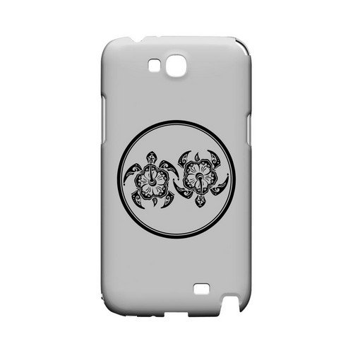 Island Turtle Duo - Geeks Designer Line Tattoo Series Hard Case for Samsung Galaxy Note 2