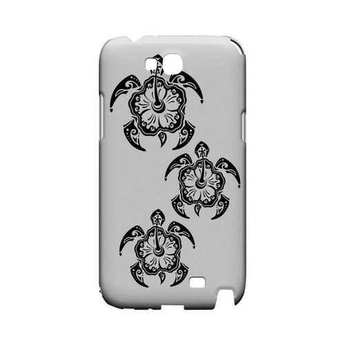 Island Turtle Trail - Geeks Designer Line Tattoo Series Hard Case for Samsung Galaxy Note 2