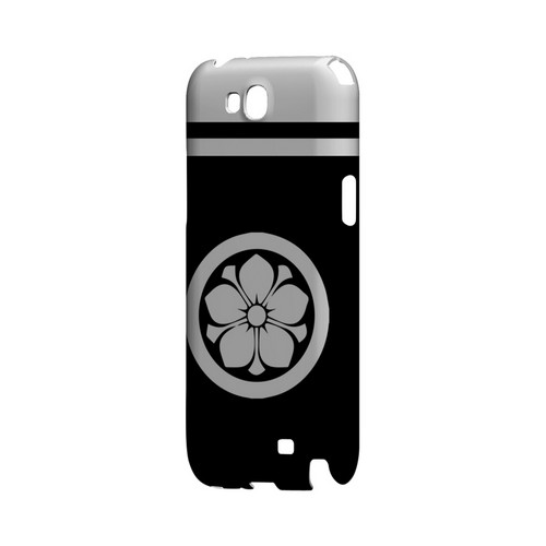 White Kikyo Kamon w/ Stripe v.3 - Geeks Designer Line Tattoo Series Hard Case for Samsung Galaxy Note 2