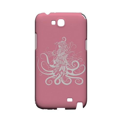 White Medusa on Pink - Geeks Designer Line Tattoo Series Hard Case for Samsung Galaxy Note 2