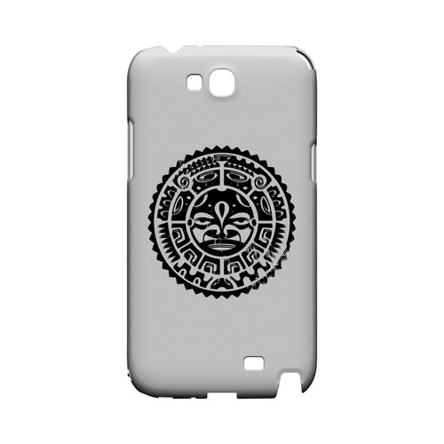Polynesian Face - Geeks Designer Line Tattoo Series Hard Case for Samsung Galaxy Note 2