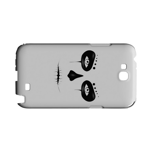 Skull Face - Geeks Designer Line Tattoo Series Hard Case for Samsung Galaxy Note 2